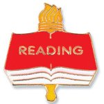 Reading Lapel Pin Lapel Pins