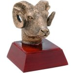 Ram Resin Mascot Resin Trophy Awards