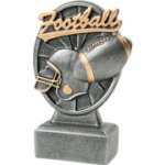 Pinwheel Script Football Resin Pinwheel Script Resin Trophy Awards
